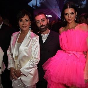 Kris Jenner, Giambattista Valli, Kendall Jenner