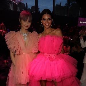 Li Yuchun with Kendall Jenner