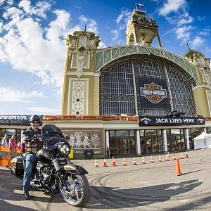 Oslavy 115. výročí Harley-Davidson v Praze
