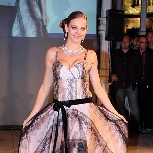 Andrea Verešová, šaty Beata Rajská