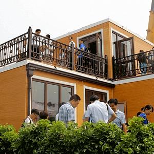 Dům postavený 3D tiskem, Čína