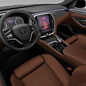 Interiér Lux A2.0 sedan