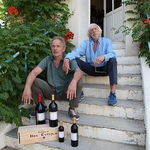 Pierre Richard, his winery