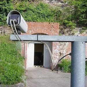 Vstup do jednoho z bunkru