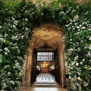 Luxurious flower decoration
