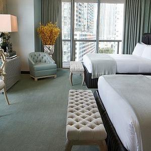 Hotel W Miami nabízí krásné výhledy na město i pláž