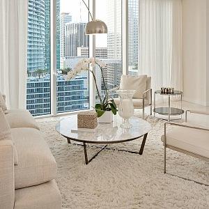Luxusní výhled je z káždého apartmá