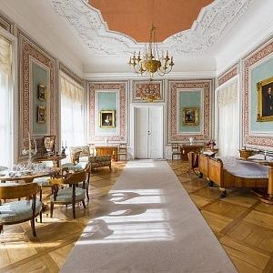 Interiér zámek Litomyšl