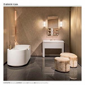 Armani Casa představuje luxusní trendy styl.