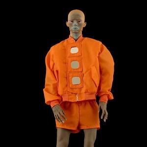 Pánský model z kolekce Walter Van Beirendonck SS 2021