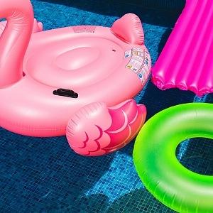 Žádné plastové hračky do vody!