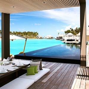 Kouzelný tropický resort na Maledivách Cheval Blanc Randheli******