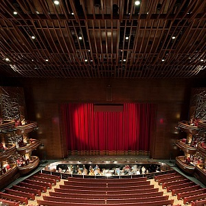 Dubai Opera, the main hall