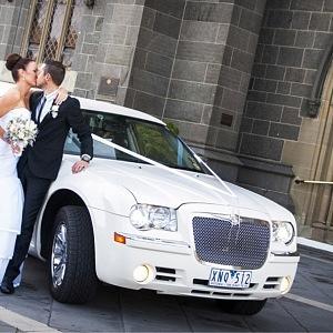 Luxusní svatební limuzína