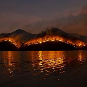 Na požáry jsou místní zvyklí