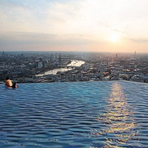 360 stupňový výhled na celý Londýn.