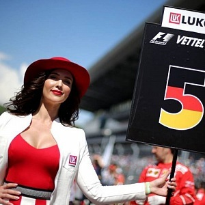 Grid Girls ze stáje Vettel