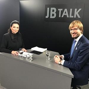 Jana Bobošíková as a moderator