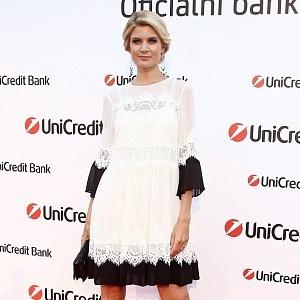 Iveta Lutovská-Vítová - šaty Twinset - Praha