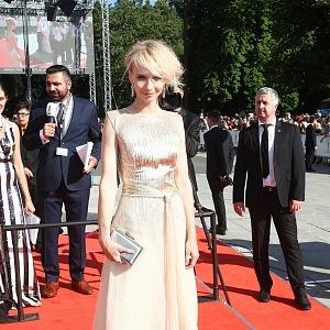 Jana Plodková, dress T. Kovaříková