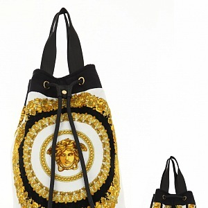 Typical Versace print on bag