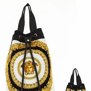 Typický vzor Versace, luxusní batoh