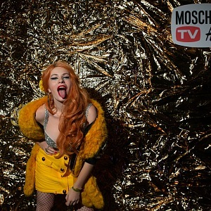 Žofie Dařbujánová in collection MOSCHINO [tv] H&M