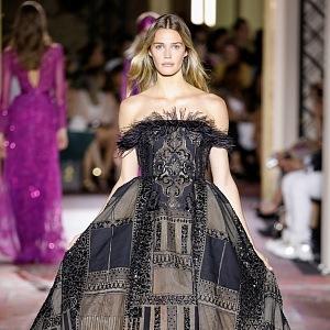 Modely zdobí také motivy marockého koberce