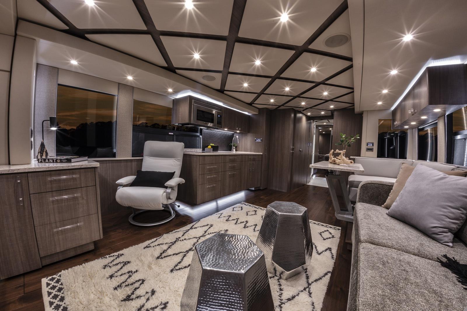When a Motorhome Turns into a Luxurious Villa | Luxury